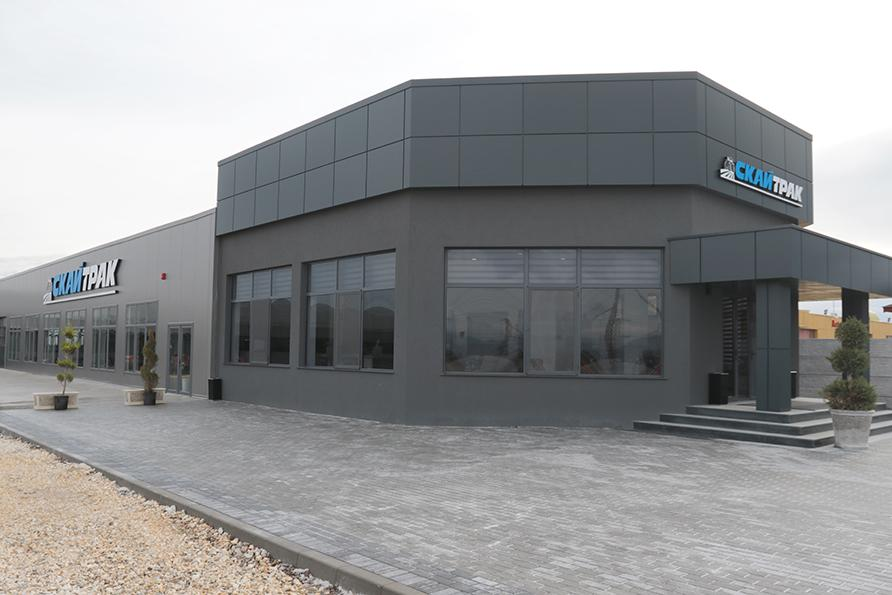 Skytrak with a new showroom